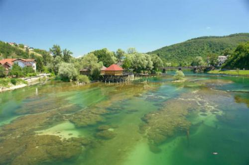 Fishing base in Bosnia