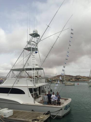 17 marlins fishing in Cabo Verde